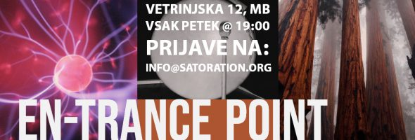 "En-trance Point – tedenske ""mind-hacking"" delavnice"
